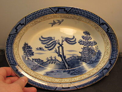 Booths REAL OLD WILLOW BLUE   Bowl