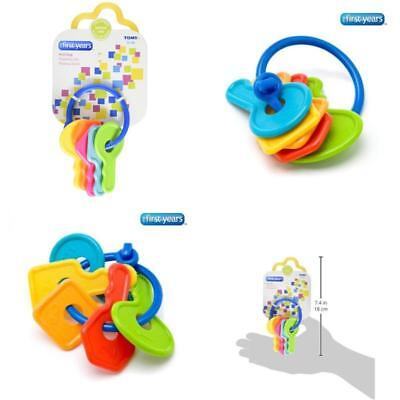 Baby Teether First Toy Soft Teething Keys For Toddlers With Toxic-Free Materials