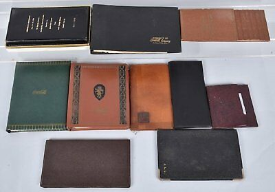 Circa 1940's/60's Coca Cola Lot of (11)  Address Books, Wallets, Secretaries