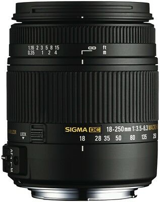 NEW Sigma 4883954 18-250mm f3.5-6.3  Macro OS HSM Lens for Canon