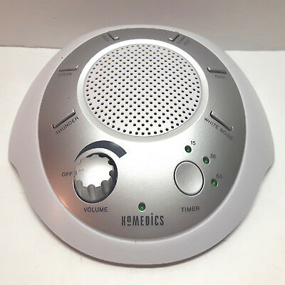 AS IS: Homedics Sleep Solutions Sound Spa Relax Machine SS-2020 Battery Only