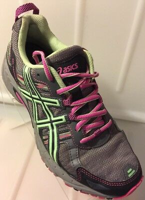 Asics Gel-Venture 5 Running Athletic Shoes Women's Size 7.5 Grey Pink T5N8N
