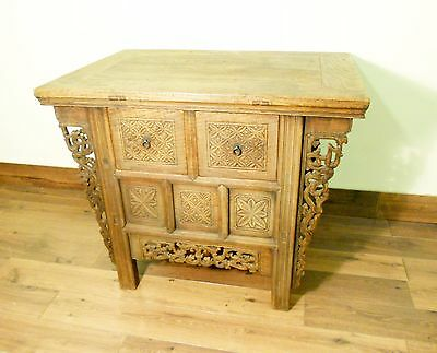"""Antique Chinese """"Butterfly"""" Cabinet (5716), Circa 1800-1849"""