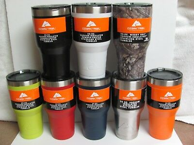 Ozark Trail 30Oz Tumblers Various Colors & Styles ,Lids,And Handles, You Choose