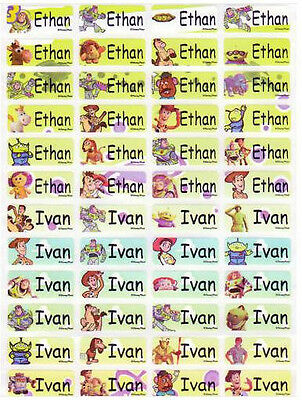 120 TOY STORY Custom Name Label-DAYCARE,SCHOOL SUPPLIES (Buy  5 get 1 FREE)
