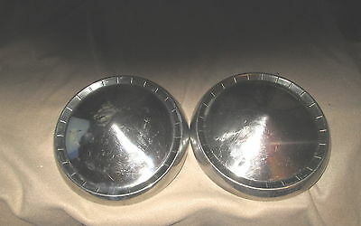 Vintage 1957 Plymouth Hubcaps Hub Caps Good Condition