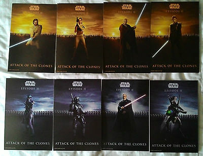 STAR WARS Episode II: Attack of the Clones Character Postcard set
