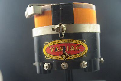 One Vintage General Radio VariacType 200B Variable Auto Transformer