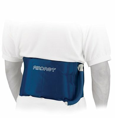 Back Cryo Cuff from Aircast in Blue ONE SIZE