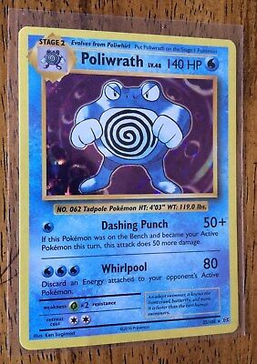 Poliwrath 25/108 Holo Pack Fresh From Pokémon Evolutions