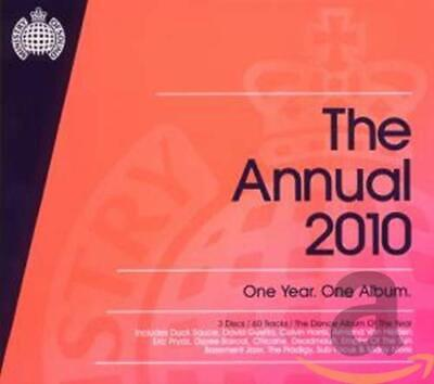 Various Artists - The Annual 2010 - Various Artists CD RCVG The Cheap Fast Free