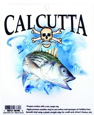 Calcutta CAL7 Striper Decal
