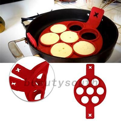 Nonstick Pancake Maker Mould Egg Ring Maker Easy Fasy Pancake Mold DIY