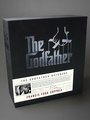 The Godfather Notebook Signed Limited Edition - Francis Ford Coppola Autographed