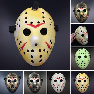 The 13th Jason vs Freddy Prop Horror Hockey Halloween Costume Cosplay Mask HOT
