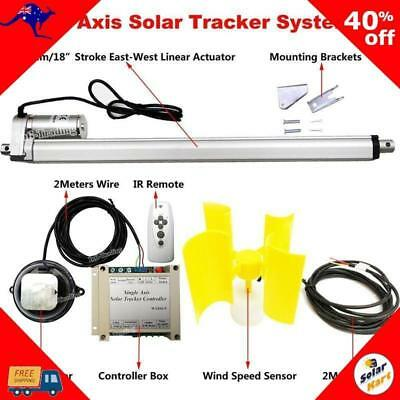 Single Axis Tracking Kit + Wind Sensor 12V
