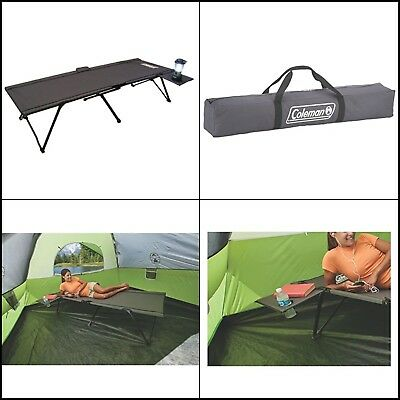 Cot Camping Bed Portable Folding Outdoor Sleeping Camp Travel Wide 300 lbs XL