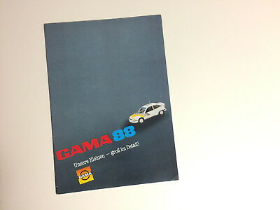 Book #7 TOY CATALOG OF GAMA MODELSM NADE IN THE USA BY GERMANY,