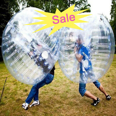 1.2M Human Bubble Soccer Ball Body Inflatable Bumper Football Ball