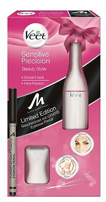 Veet Sensitive Precision Beauty Styler +Gratis Manhattan Eyebrow Pencil GiftPack