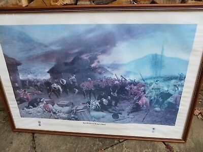 `the Battle Of Rorke`s Drift` Framed Print