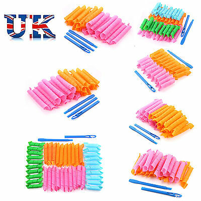 Magic Hair Curlers Styling Curlformers Spiral Ringlet Hairband Tool 20/30/40 pcs