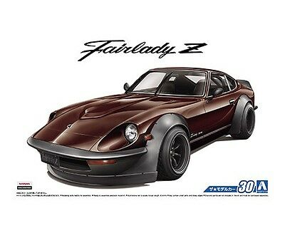 Aoshima 53058 1/24 The Model Car 30 Nissan S30 FAIRLADY Z AERO CUSTOM from Japan