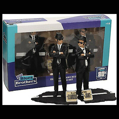The Blues Brothers Jake and Elwood 17 cm - 2 Figures Set