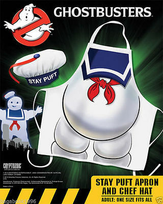 Ghostbusters - Chef Apron and Hat - Stay Puft Marshmallow Man