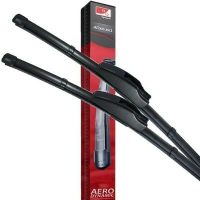 Fit SKODA Superb (3U4) 11.2004-03.2008 Front Flat Aero Wiper Blades
