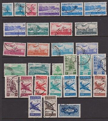 LEBANON 1952-1953 thirty used