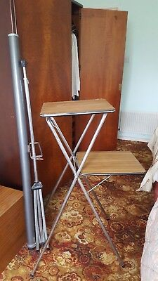 Retro projector table stand