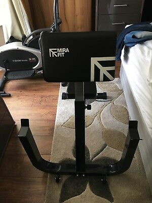 preacher curl bench used 3 times