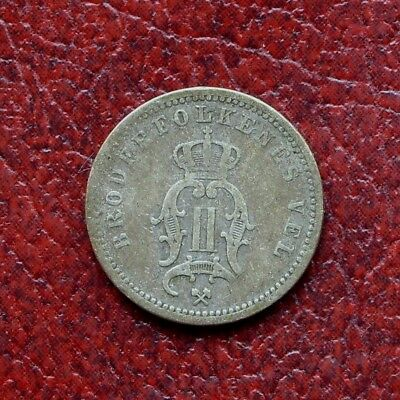Norway 1897 silver 10 ore