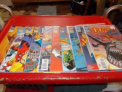 The Demon Dc Comics Lot, 11 Issues, #2 OF 12,13,25,27,41,42,46,50,51,56 GREAT