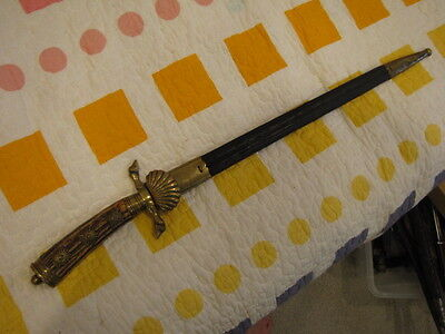 Imperial, Wkc Knights Head,hirschfanger,hunting Dagger, Three Pips Military