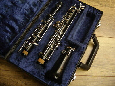 Serviced Boosey And Hawkes Regent  Thumb Plate System Oboe