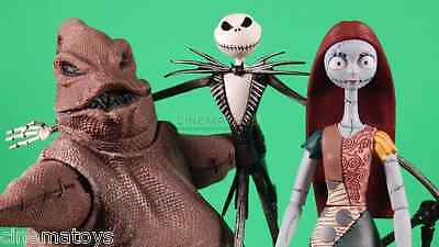 Nightmare before X-mas Jack Skellington Sally Oogie Boogie set 3 Action Figures