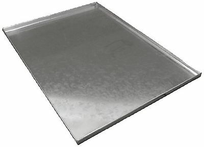 Ellie-Bo Replacement Metal Tray for Dog Cage Crate Small 24-inch Silver