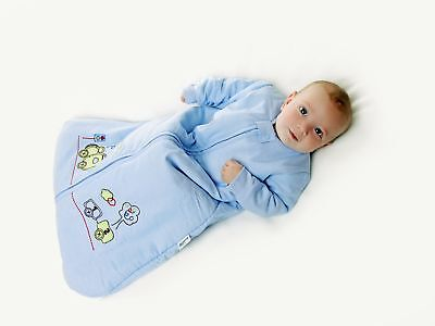 Slumbersac Winter Baby Sleeping Bag Long Sleeves approx. 3.5 Tog - Choo Choo - 0
