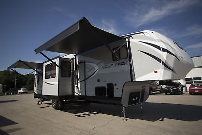 5th Wheel Wolf Pack 325PACK13 Toy Hauler new and used for sale RV Camper