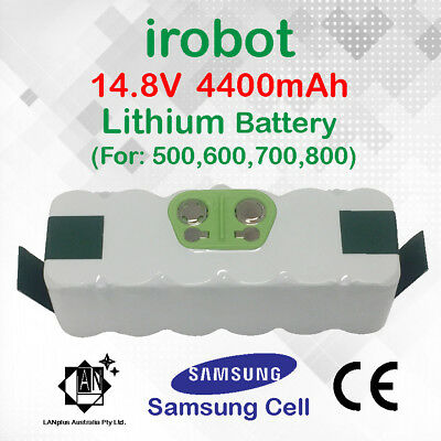 4400mAh Samsung cell Lithium Battery for iRobot Roomba 510 535 550 560 580 630