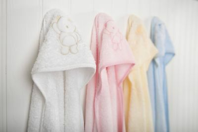 Clevamama Splash and Wrap Baby Bath Towel (Soft Cotton Pink)