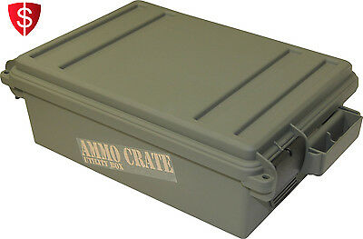 Utility Storage Box Military Organizer Case Can Surplus Waterproof Ammunition