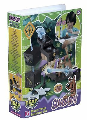 Scooby Doo Trap Time Fred's Mega Trap Building Kit