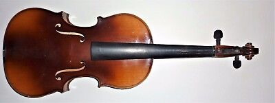 Nice old labeled made in Czechoslovakia Viola 39.2 cms back