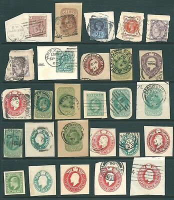 GB Postmark and Postal Stationery collection - Queen Victoria & Edward VII
