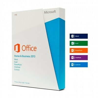 OFFICE 2013 HOME and BUSINESS MULTI 32/64 BIT ESD KEY LICENSE FULL VERSION