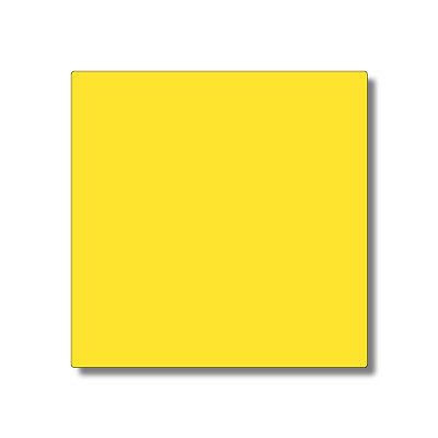 Yellow Laser Cut Plastic Squares 3Mm Thick Acrylic - Perspex Plexiglass