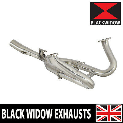 BMW R 1200 RS Exhaust De Cat Water Cooled Collector Downpipe Headers 14-18